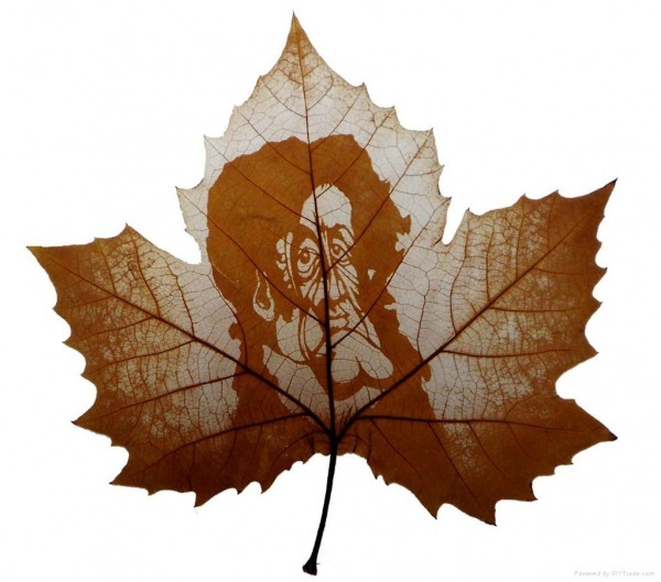 Leaf Carving Artwork wonderful Art 20