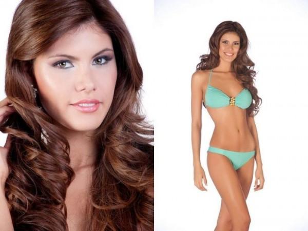Miss Paraguay 2011, Alba Riquelme