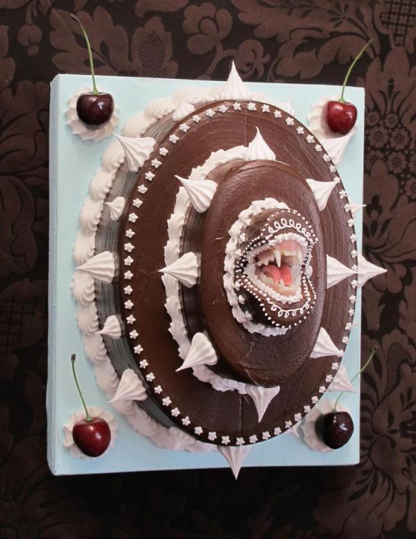 Το κέικ Bite Back Chokolate