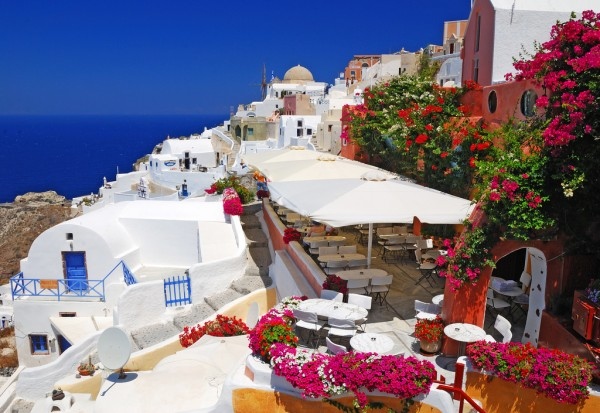 Oia, Santorini (Greece) romantic place