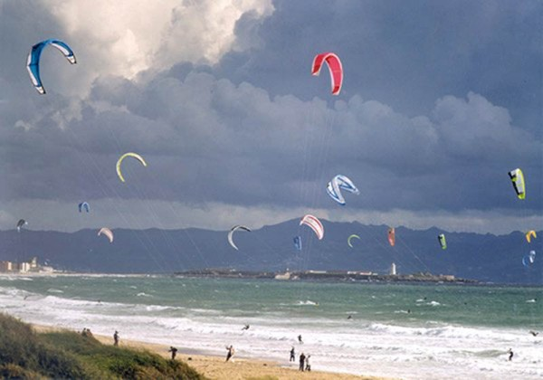 Tarifa (Spain) kite boarding