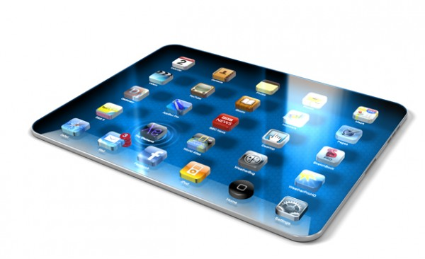 1.The iPad 3D Concept Design