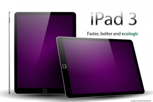 3.The Ecologic Smart iPad 3 Concept Design