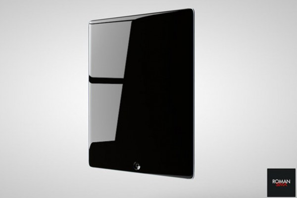 5.iPad 3 Concept Design With Dark Interface