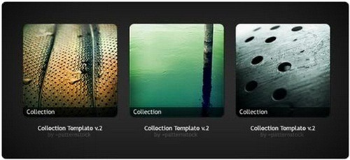 Collection Template PSD