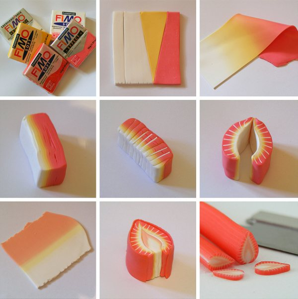 Miniature Food Sculpture Food Artworks