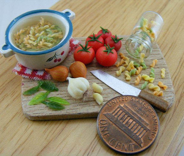 Miniature Food Artworks