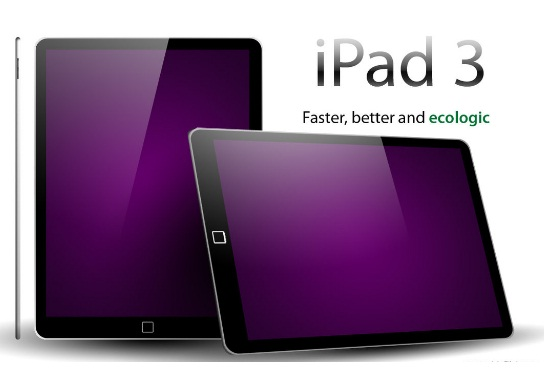 Most Inspiring iPad 3 Concept Designs