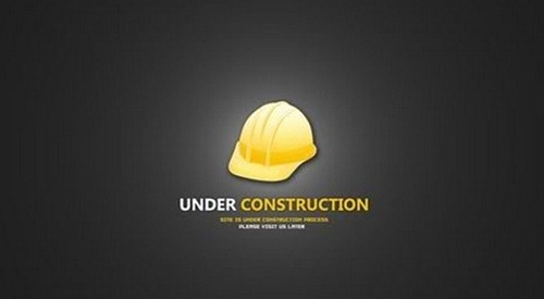 Under Construction PSD