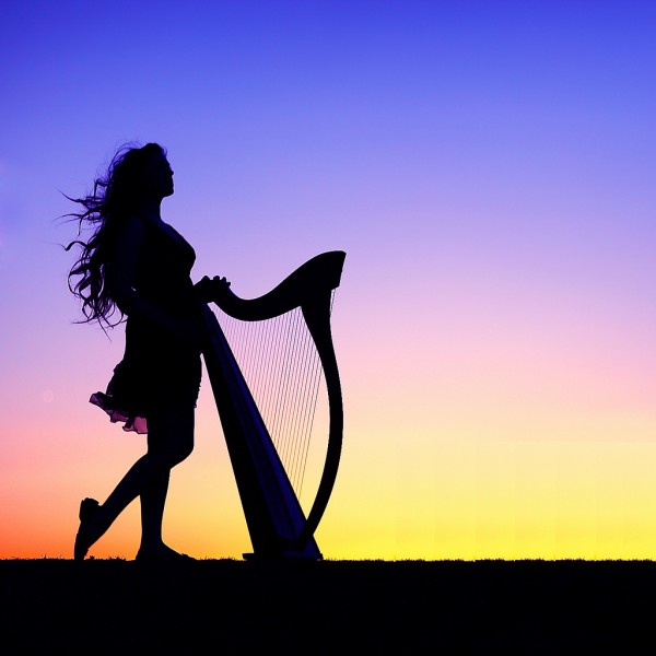 silhouette Photography of a girl