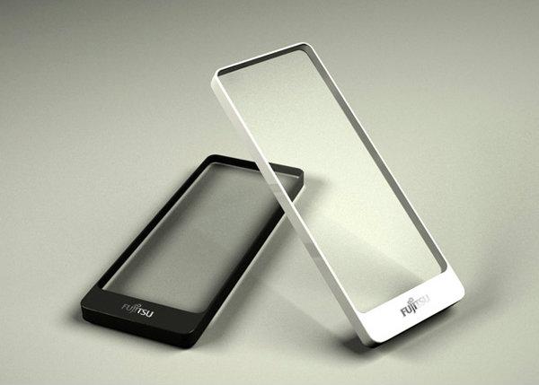 Brick Concept Smartphone By Fujitsu