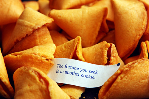 Fortune contains another cookes for fun