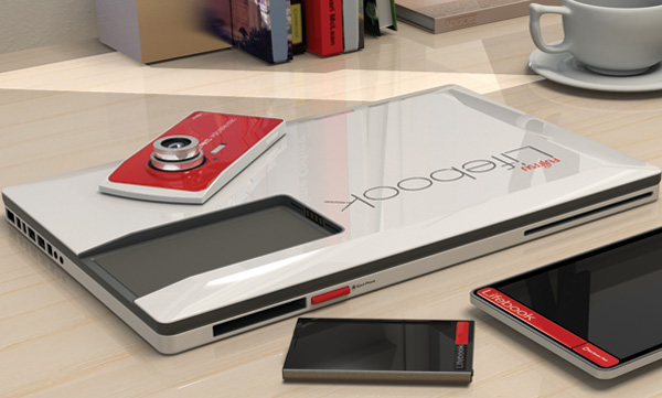 Fujitsu Lifebook Laptop Concept by Prashant Chandra
