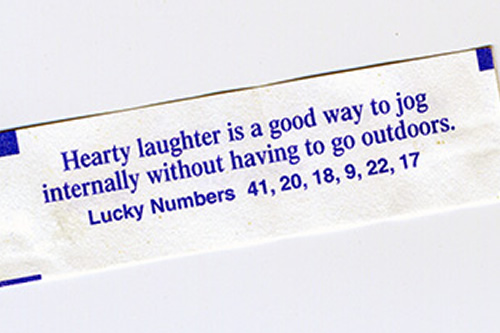 Heartly laughter is good way