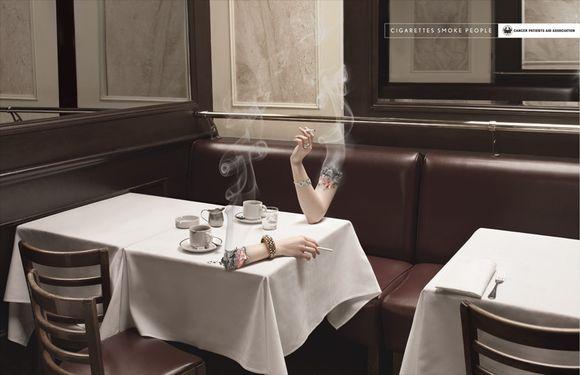 Smoking Arm