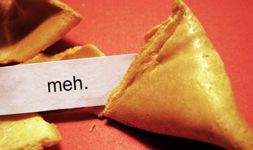 short funny fortune in one word