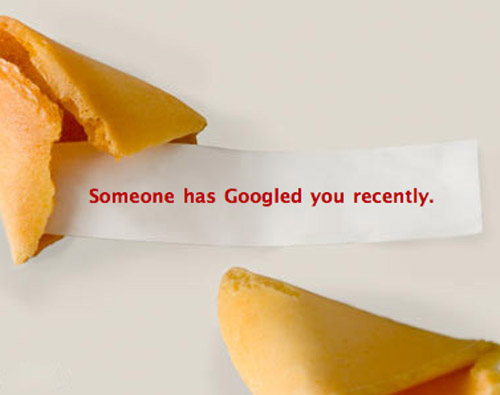 someone has Googled you recently enjoy