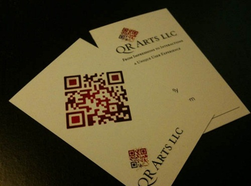 QR-Code-Business-Cards beautiful designs
