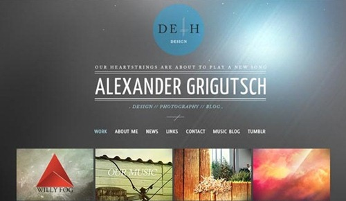 Deth Design  is a well designed and structural website