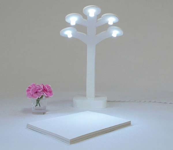 Tree of Life LED Desk Lamp Images