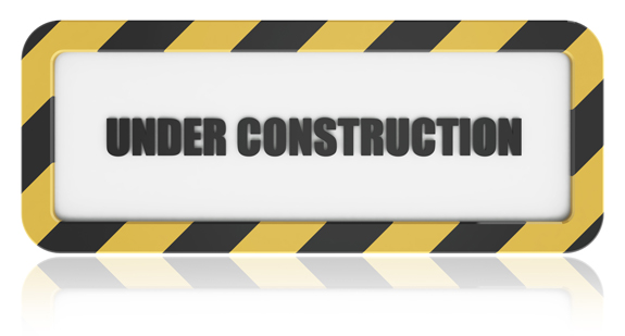 Under Construction Sign for conveing message of that website is under developement