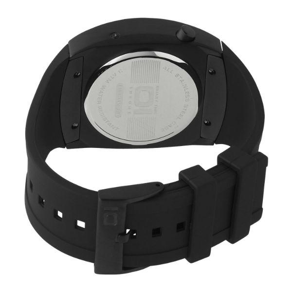 Unisex Lightmare Red LED Black Rubber Watch Images