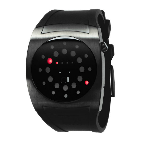 Images for Lightmare Red LED Black Rubber Watch