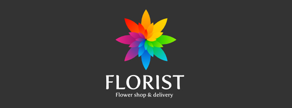 Florist is an attractive flower logo design for inspiration