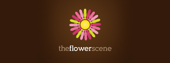 The Flower is a creative flower logo designs