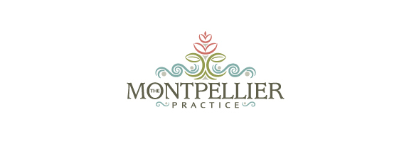 The Montpellier Practice is a flower logo design