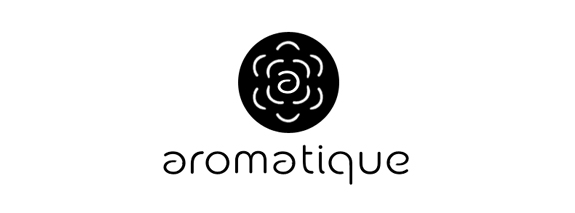 aromatique is black color terrific logo design