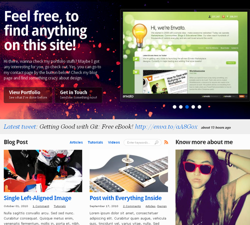40+ Portfolio WordPress Themes that Will Fit your Needs