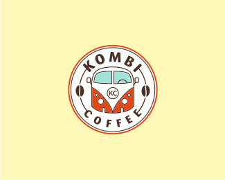 Kombi Coffee insparational logo design