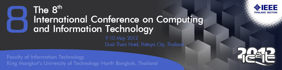 The 8th International Conference on Computing and Information Technology (IC2IT 2012