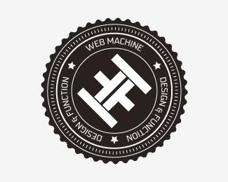Web Machine is a delightful logo design