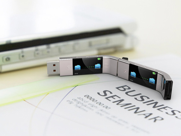 U Transfer USB Stick Concept by Yiyan Cao