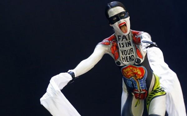 Amazing Example of Bodypainting Art.