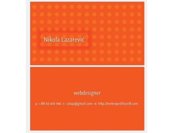 Design a Slick Business Card