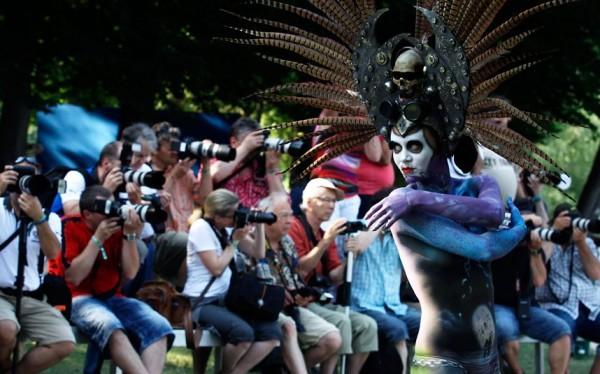 World Bodypainting Festival in Poertschach