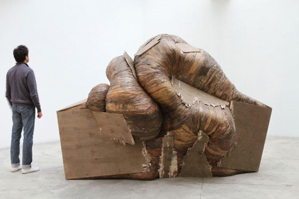 Creative Wooden Artwork by Henrique Oliveira