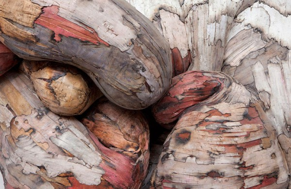 Wooden Artwork by Henrique Oliveira
