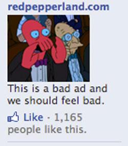 funny facebook ads