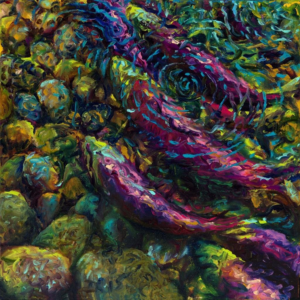 Incredible Finger Paintings by Iris Scott