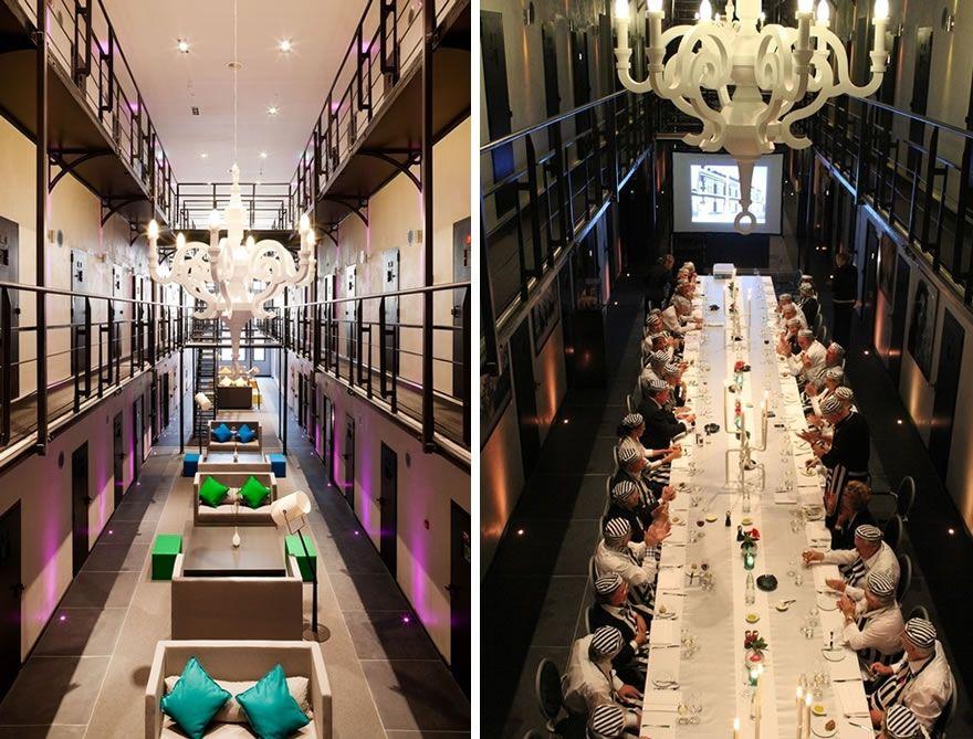 Hotel Het Arresthuis: Jail Turned Into Luxury Hotel