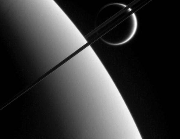 Titanium rings for Saturn