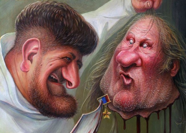Caricatures and Cartoons by Dennis Lopatin