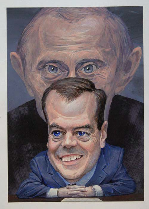 Amazing Caricatures and Cartoons by Dennis Lopatin