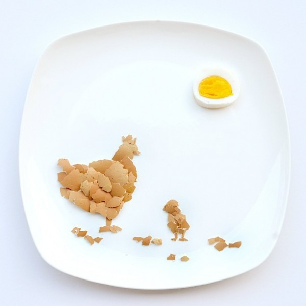 Highly Imaginative Daily Food Art Creations by Red Hong
