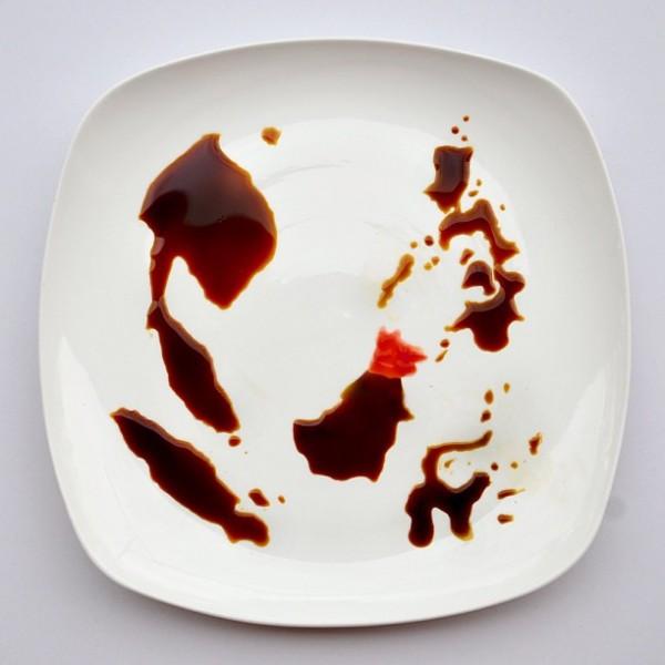 Amazing Food Art of Red Hong