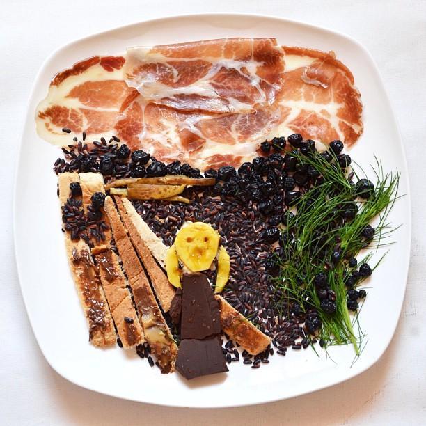 Amazing Food Art of Red Hong